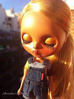 Susanah. OOAK custom Blythe doll. por AriadnaSThread en Etsy