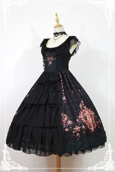 Neverland Lolita ~Gem Swan~ Lolita JSK Dress with Front Open Designs $132.99 - My Lolita Dress