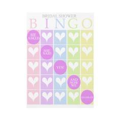 Shop Bridal Shower Bingo Invitation created by fancybelle. Wedding Bingo, Bridal Shower Bingo, Bridal Shower Planning, Bridal Bingo, Bridal Games, Wedding Cards, Diy Wedding, Wedding Planning, Bridal Showers