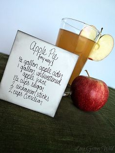 ADULTS ONLY Liquid Apple Pie Recipe! going to make this for thanksgiving!
