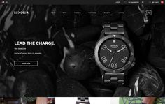 Nixon eCommerce Platform - Site of the Day March 02 2015