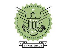 shake shack, logo, seal