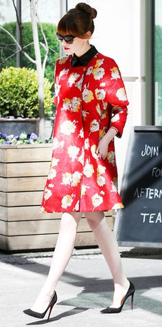 Look of the Day - April 29, 2014 - Emma Stone from #InStyle