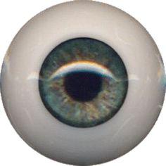Golden Hazel 12 mm Half Round  Real Eyes ~ REBORN DOLL SUPPLIES
