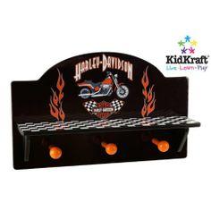 harley davidson kid bedrooms   Harley-Davidson Checker Wall Shelf - FindGift.com