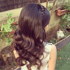 אחת התסרוקות שאני הכי אוהבת❤️ בייביליס מוברש וצמה עיצוב שיער - יפית קוריש 054-4536759 #urbanbrides #b#braids #brushout #bridebook #braids #brashoutwaves #braidmaids #braidhairstyles #yafitkoresh #hair #hairstyles #helfup #hollywoodhair #hollywoodwaves