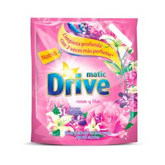 Drive Rose & Lilac Laundry Detergent Dishwasher Detergent, Laundry Detergent, Laundry Powder, Perfume, Downy, Shower Gel, Cleanser, Packaging Design, Chile