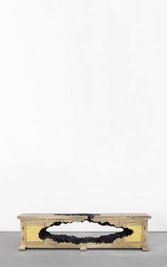 CAMPANA Low Cabinet, Small Cabinet, 2015 Wallpaper, Designer Wallpaper, Cafe Interior, Luxury Interior Design, Consoles, Outdoor Shelves, Carnegie Museum Of Art
