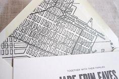 Baltimore Envelope Liner  www.justinkonpaper.com