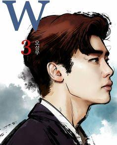 #wtwoworlds #wdoismundos #w #leejongsuk #kangchul #drawing #3