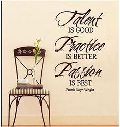 this would be a great quote for the piano room!