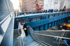 Bride and Groom at the Highlight in New York City