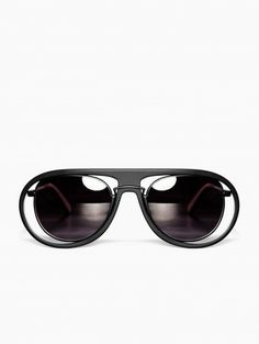 230d20d5663 Rimmed sunglasses from Kuboraum collection.