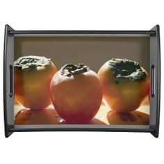 Persimmons Large Serving Tray