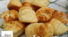 Leveles pogácsa   Receptkirály.hu Bakery, Bread, Snacks, Food, Appetizers, Brot, Essen, Baking, Meals