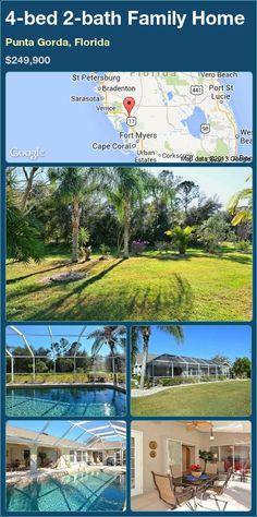 4-bed 2-bath Family Home in Punta Gorda, Florida ►$249,900 #PropertyForSale #RealEstate #Florida http://florida-magic.com/properties/93074-family-home-for-sale-in-punta-gorda-florida-with-4-bedroom-2-bathroom