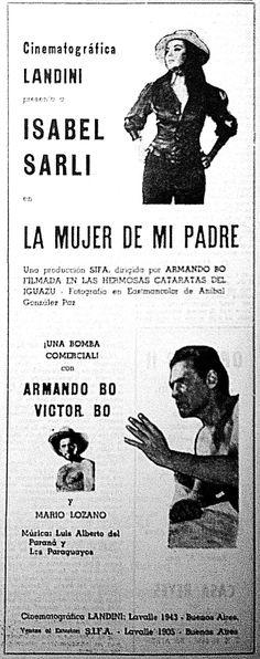 Isabel Sarli y Vìctor Bo en… La Mujer de mi Padre (1968), dirigida por (adivinen adivinen) Armando Bo
