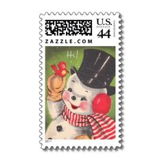 Victorian Christmas Postage is perfect compliment for your Vintage Christmas Cards. Make this a special year and match your cards, stickers and stamps! Don't settle for what the post office has to offer!