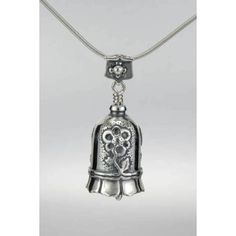 Daughter in Law Bell Necklace in sterling silver