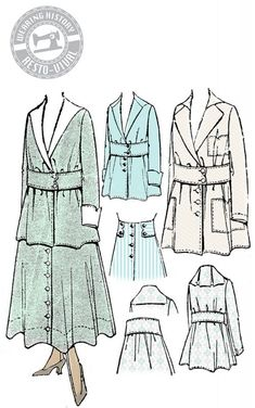 1910's dress suit; love to make.