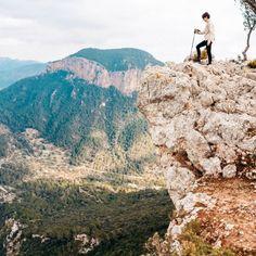 Winter-Wanderung zum Castell d'Alaró Strand, Mount Rushmore, Grand Canyon, Mountains, Nature, Travel, Bathroom, Decor, Small Bars