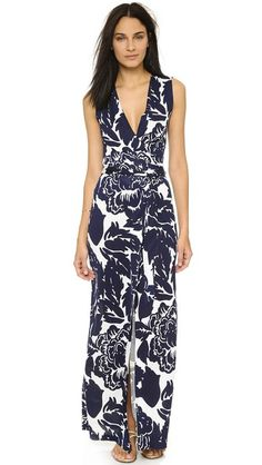 Diane von Furstenberg New Yahzi Silk Maxi Dress