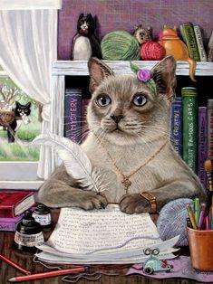Bom humor com o artista Joy Campbell. . Discussão sobre LiveInternet - Serviço russo diários on-line