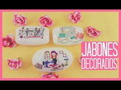 JABONES DECORADOS SÚPER FÁCILES - YouTube