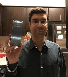 Jatin won this cologne using one voucher bid and saved 99%! #OneBidWin