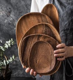 Serving Tray Wood, Wood Tray, Teak Wood, Serving Platters, Wood Bowls, Coffee Tray, Tea Tray, Sushi Plate, Fruit Plate