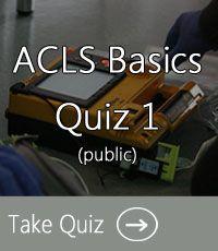 ACLS Practice Test 1