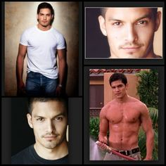 This is how I picture Vincent Mancini - played by Nicholas Gonzalez