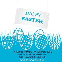 Wishing you all a very #Happy and #Blessed #Easter . Have fun and enjoy the latest surprises on #Reecoupons for you . #Menswear , #Womenwear , #Coupons , #Promocodes , #Discountedcoupons .