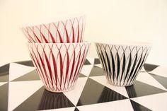 Lansett Gustavsberg Swedish Design, Porcelain Ceramics, Retro, Decorative Bowls, Tablewares, Pottery, Kitchen, Decorating, Home Decor