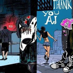 THE FEELS  #ThankYouAJ #MissYouPunk