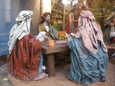 Sevilla - XVIII Feria del Belén - Jugadores de cartas