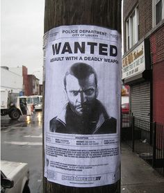 Clever Advertisement - GTA IV Advertisement. GTA IV viral marketing poster.
