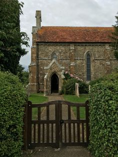 The church at Newtown, Isle of Wight.