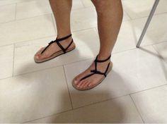 Hola de nuevo, estás son las nuevas sandalias que estoy probando, llevan piel vuelta y de momento son muy confortables y agradables al tacto...