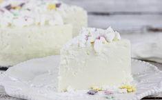 Ciasto Narcyz Sweet Violets, Polish Recipes, Polish Food, Desert Recipes, Cheesecakes, Vanilla Cake, Feta, Camembert Cheese, Party Time