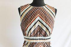 Vintage 60's Chrevorn Polka Dot Print Dress by perniejaynevintage, $48.00