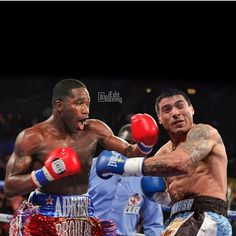 """Via @ieditboxing who wins between @adrienbroner and Lucas """"The Machine"""" Matthysse."""