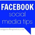 amazing tips on how to use facebook better to grow your readership and blog!