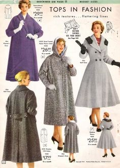 Canada Goose coats outlet price - 1950s Coats and Jackets History   Coats And Jackets, 1950s and History