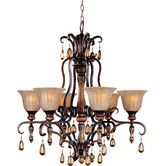 for mom...Found it at Wayfair - Dresden 6 Light Chandelier $750