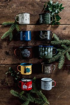 Camping coffee mugs
