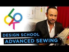 Advanced Sewing: Design School w/ Nick Verreos (+playlist) Sewing School, Sewing Class, Sewing Tools, Sewing Basics, Love Sewing, Sewing Hacks, Sewing Tutorials, Hand Sewing, Sewing Projects