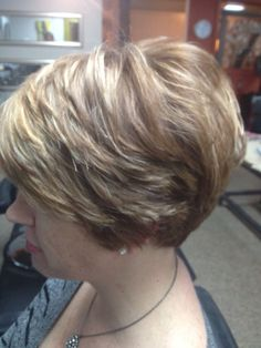 My client wanted a super cute do! She loved it www.vagaro.com/thecolorpalettesalon