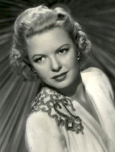 Marjorie Reynolds (August 12, 1917 – February 1, 1997) was an American film actress.