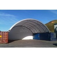 12m Wide x 12m Long Siteshelter® Container Dome Shelter